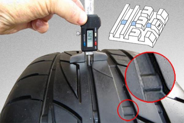 Определение степени износа шин