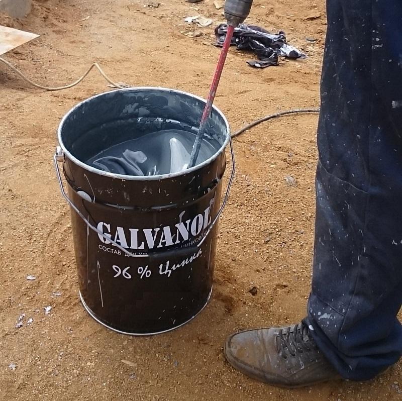 Подготовка состава для цинкования Гальванол