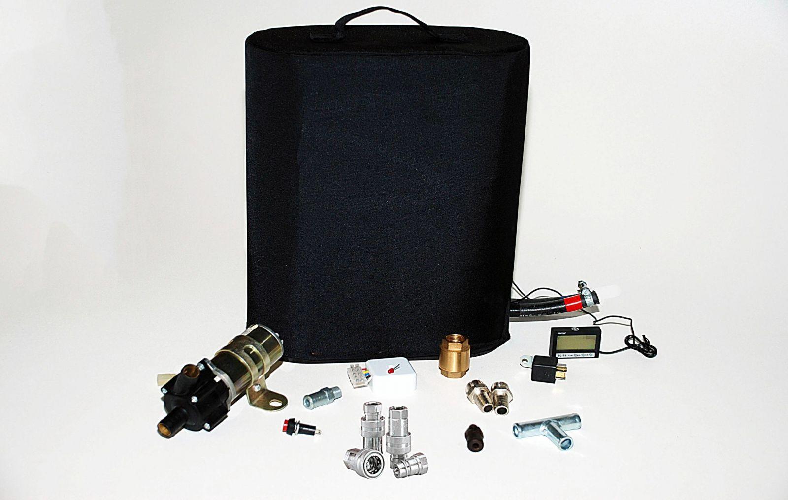 Подогреватель двигателя с теплоаккумулятором