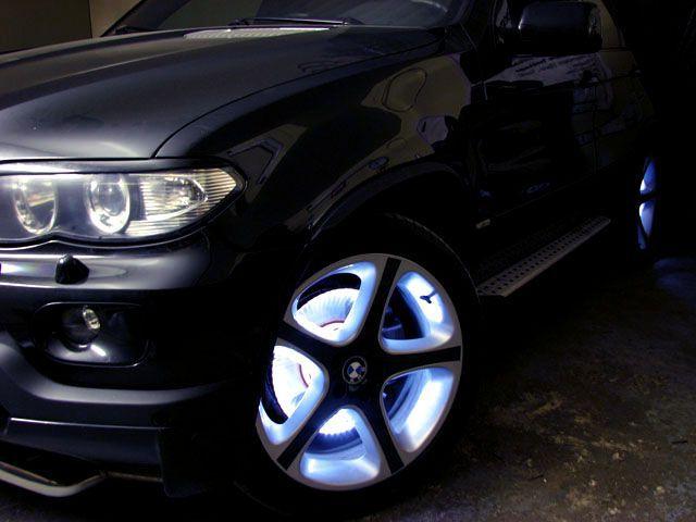 Подсветка дисков колес