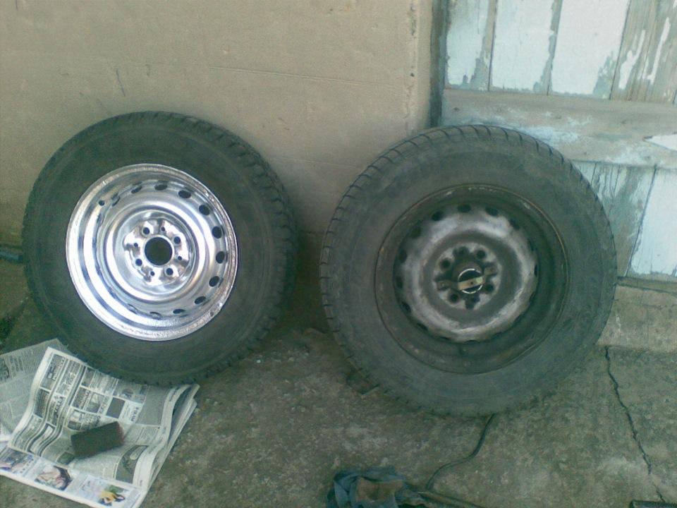 Покраска колёсных дисков