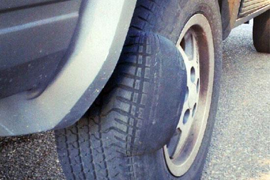 Последствия неправильного ремонта бокового пореза шины