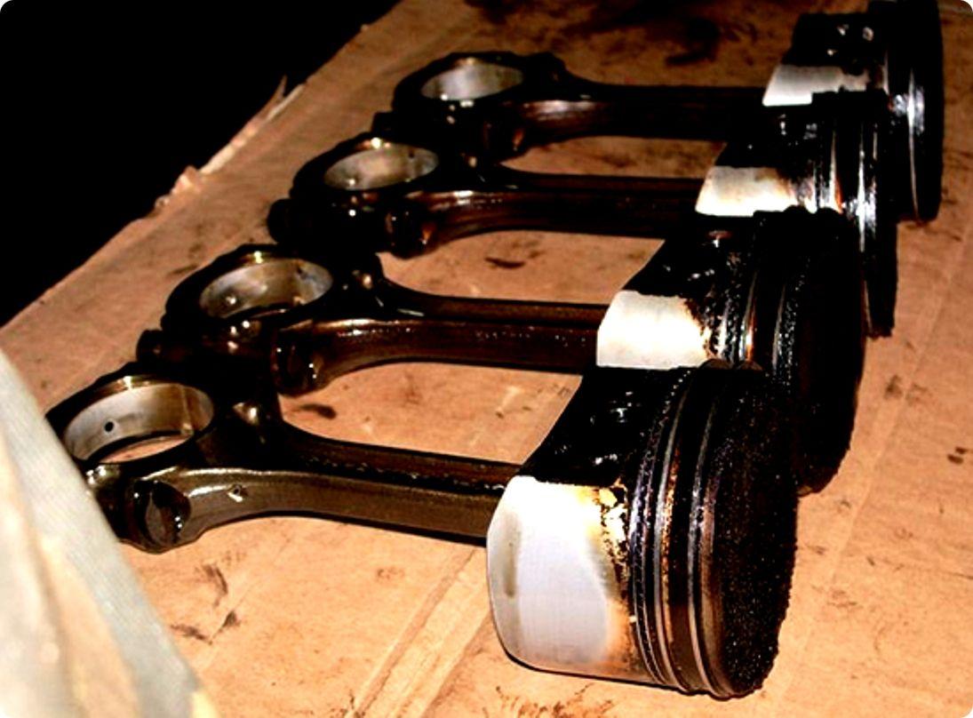 Раскоксовка двигателя и колец