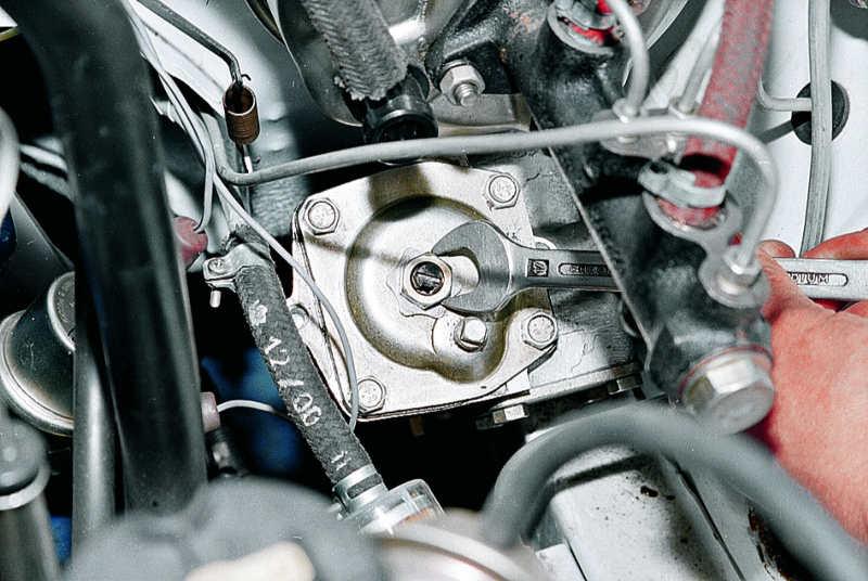 Регулировка зацепления рулевого редуктора ВАЗ-2107