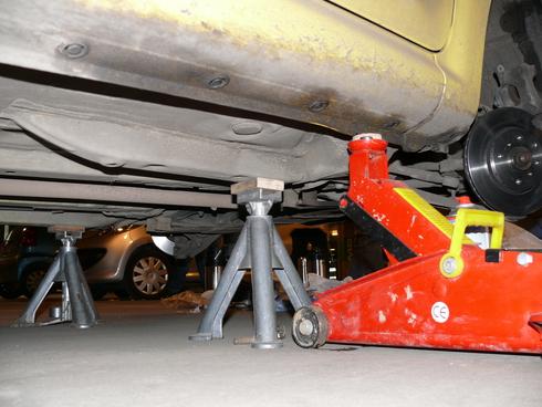 Регулируемая подставка под автомобиль