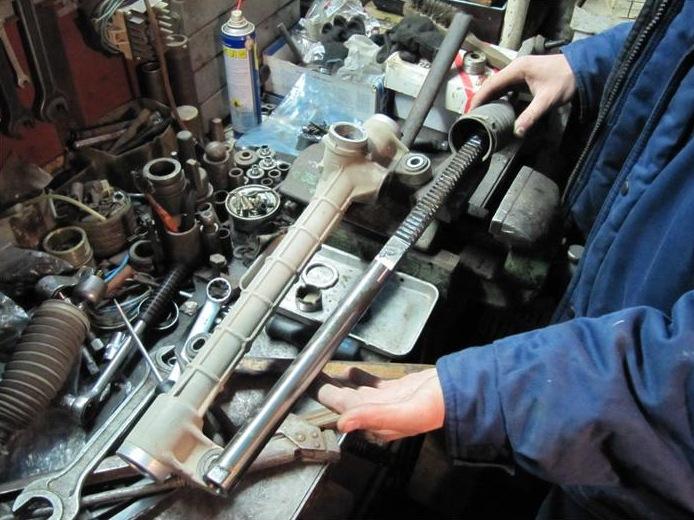 Ремонт рулевой рейки ВАЗ