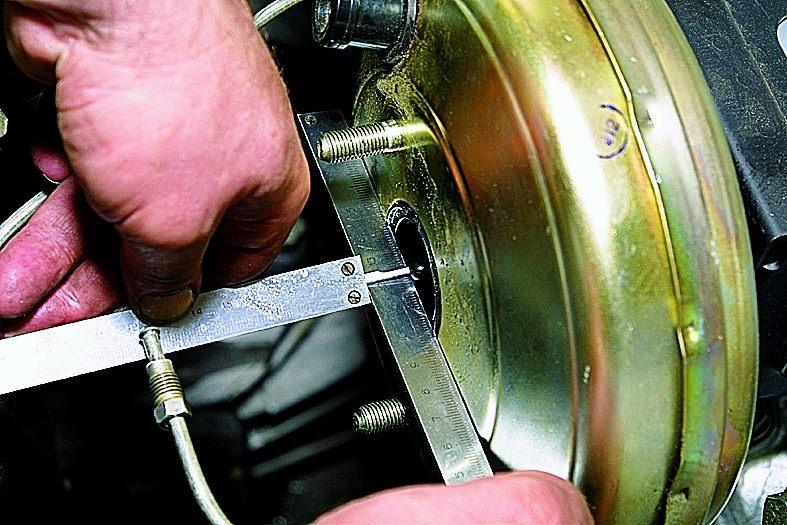 ремонт вакуумного усилителя тормозов