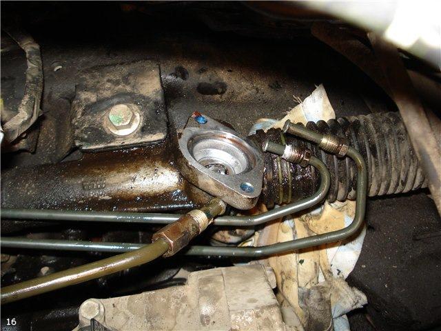 Сальник рулевой рейки на ВАЗ 2110