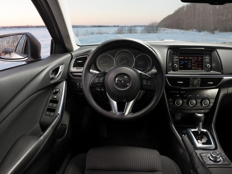 Салон новой Mazda 6