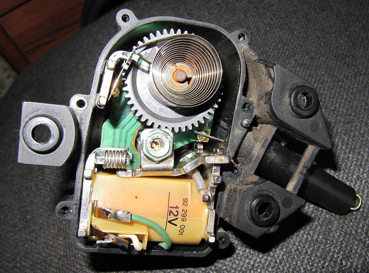 Самодельный сервопривод для круиз-контроля