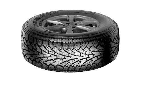 Шоссейно внедорожные шины