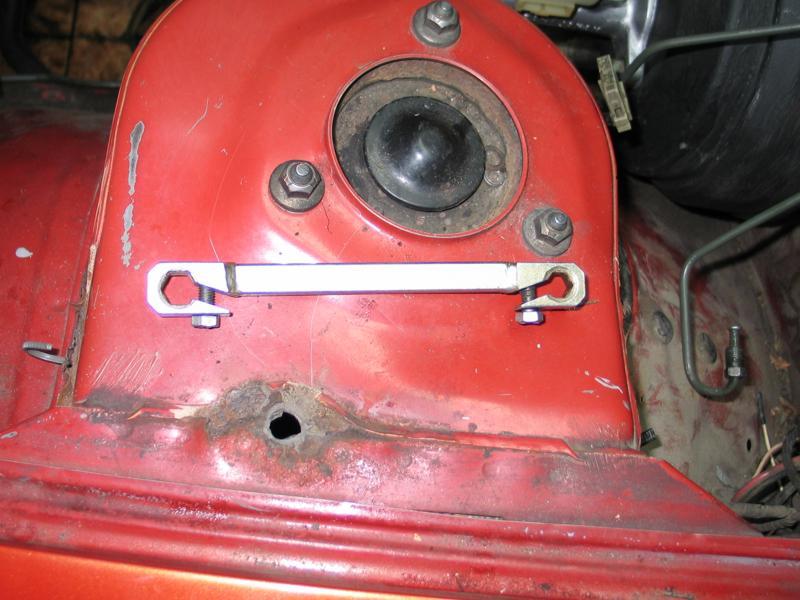 Спецключ для откручивания наконечников тормозных трубок