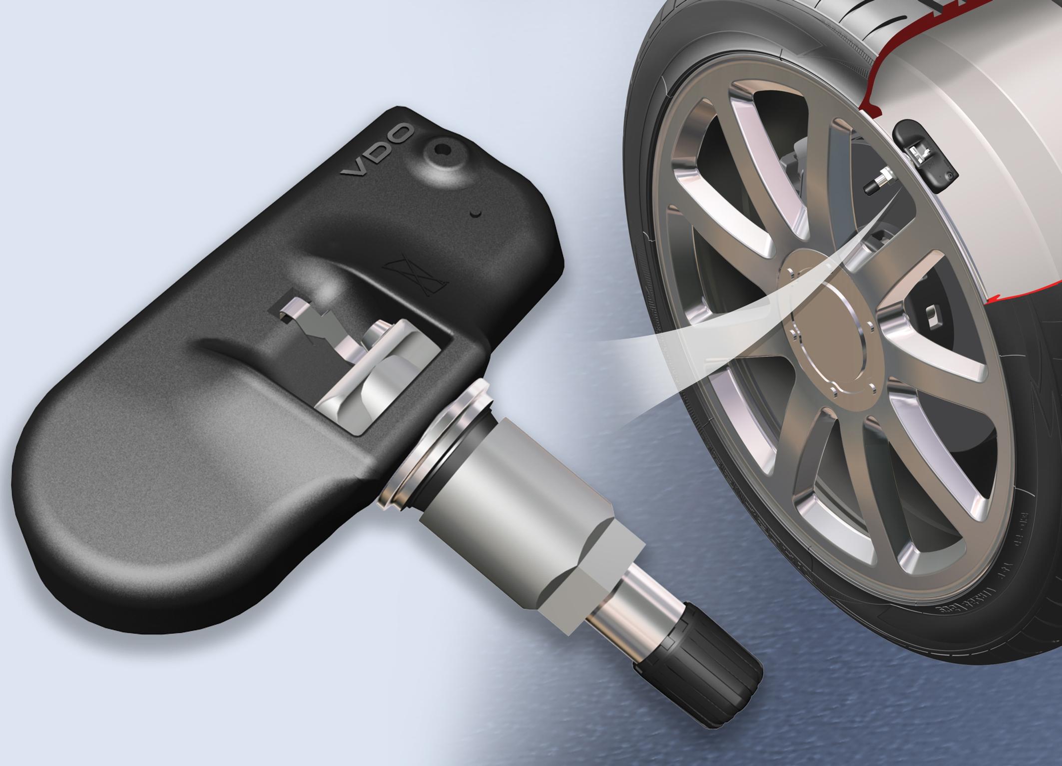 Установка датчика давления в колесный диск