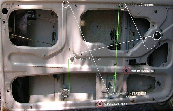 Монтаж стеклоподъемников на ВАЗ 2107