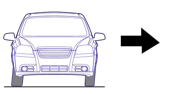Увод машины в сторону при торможении