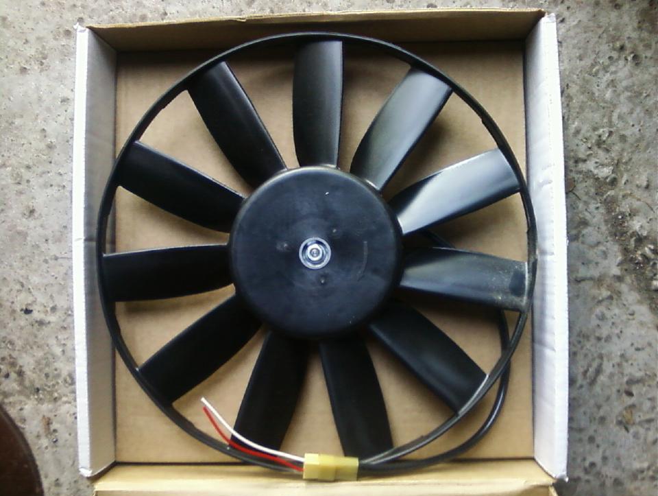 Вентилятор с электрическим приводом
