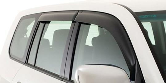 Виды дефлекторов боковых окон