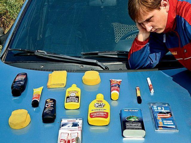 Восстановительные полироли для кузова автомобиля