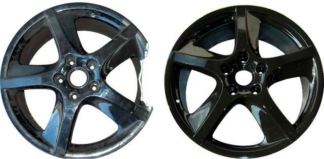 Восстановление и ремонт колёсных дисков