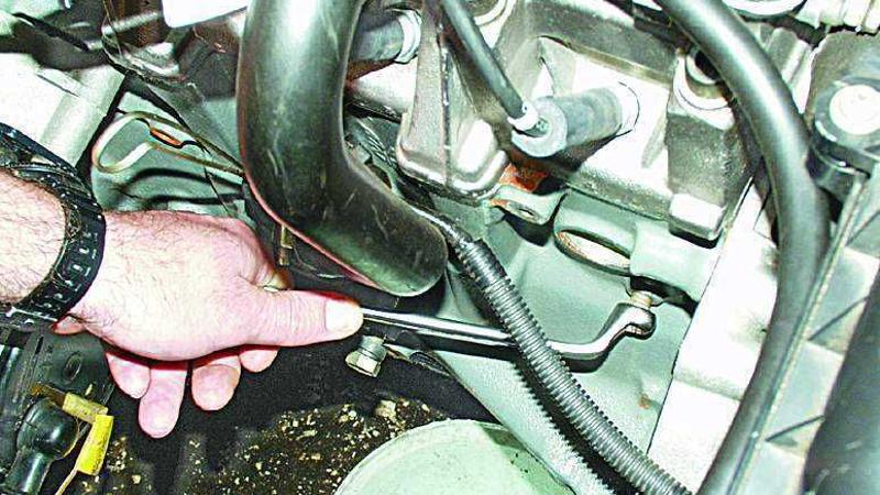 Заглушка для слива охлаждающей жидкости с блока цилиндров