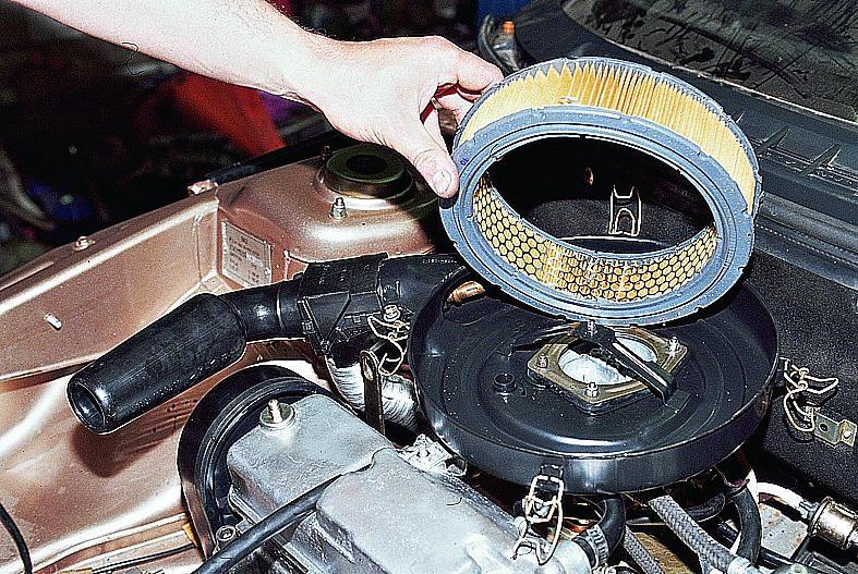 Замена корпуса воздушного фильтра на карбюраторе
