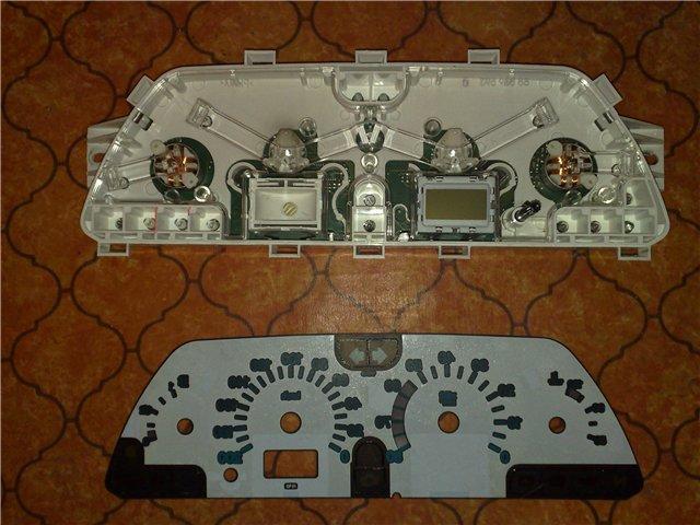 Замена лампочек приборной панели ВАЗ 2110