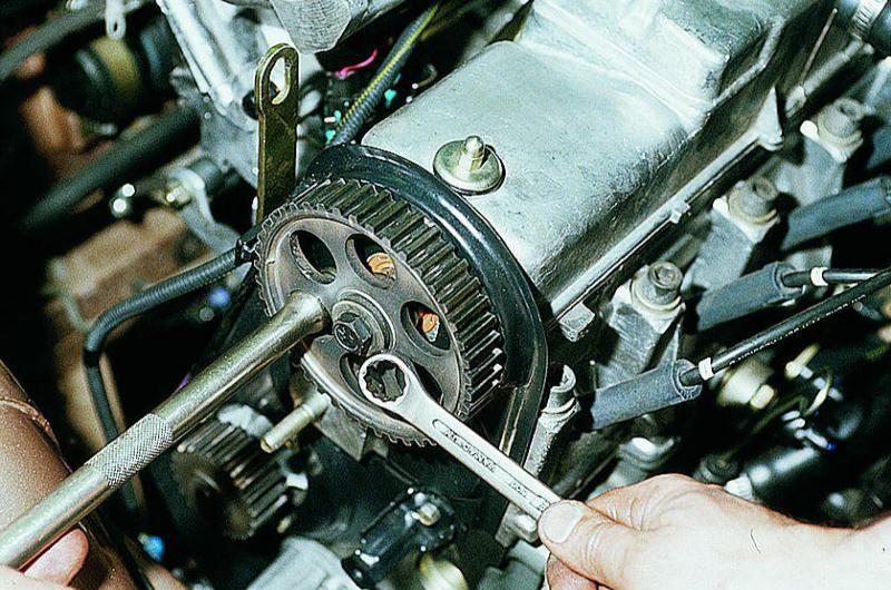 Замена ремня грм на 8 клапанном двигателе