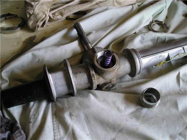 Замена втулок рулевой рейки