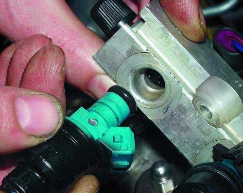 Заменить форсунки на ВАЗ инжектор