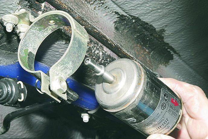 замены топливного фильтра ВАЗ